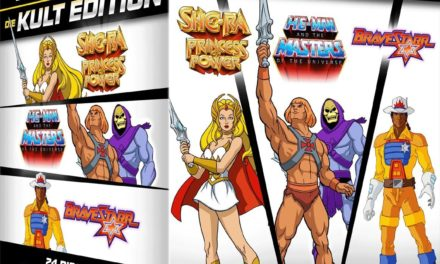 59,99€ He-Man Masters of the Universe + She-Ra + BraveStarr – Die 80er Jahre Kult Edition Limitiert (24 Disc Set)