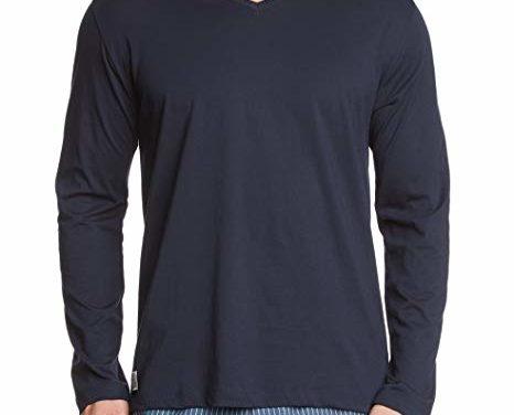 8,95€ Schiesser Herren Schlafanzugoberteil Shirt Langarm