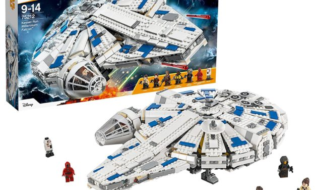 107,01€ Lego Star Wars Kessel Run Millennium Falcon 75212 Star Wars Spielzeug