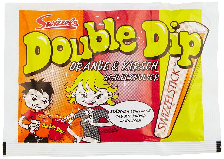 8,40€ Dok Double Dip Schleckpulver, 24er Pack (24 x 18 g Packung)
