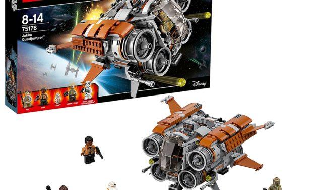 35,99€ Lego Star Wars 75178 – Jakku Quadjumper Raumschiff Spielzeug