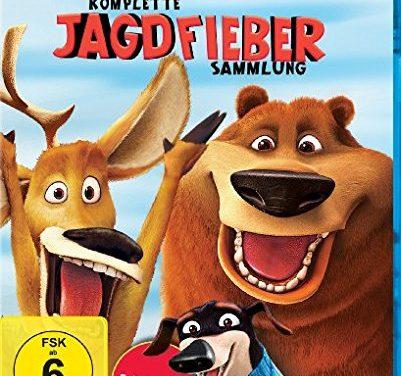 11,97€ Die komplette Jagdfieber Sammlung 4-Filme Set
