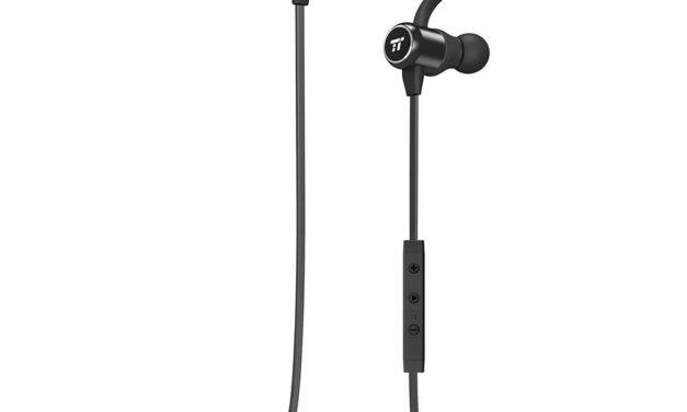 15,70€ Bluetooth Kopfhörer 4.2 TaoTronics Kabellose Kopfhörer mit Magnetischen Ohrstöpseln, Enger Sitz für Sport mit MEMS Mikro und Keramik-Antenne