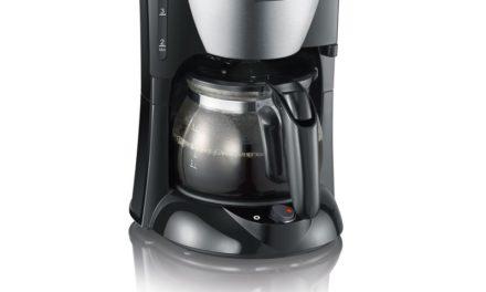 13,60€ Severin KA 4805 Kaffeeautomat (650 Watt, 0,46 L, Automatische Abschaltung) Edelstahl gebürstet/schwarz