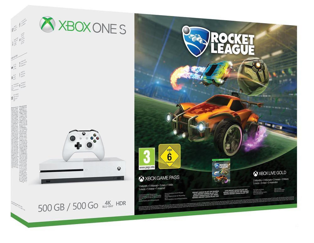 169€ Xbox One S 500GB Konsole – Rocket League Bundle