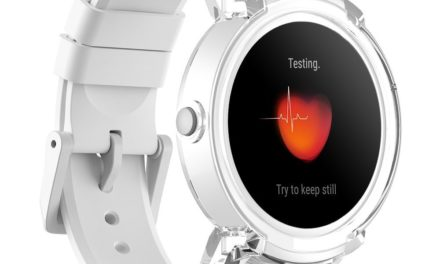 104,99€ Ticwatch E Ice am bequemsten Smartwatch, 1,4 Zoll OLED-Display, Android Wear 2.0, Kompatibel mit iOS und Android, Ein organisiertes Leben Führen