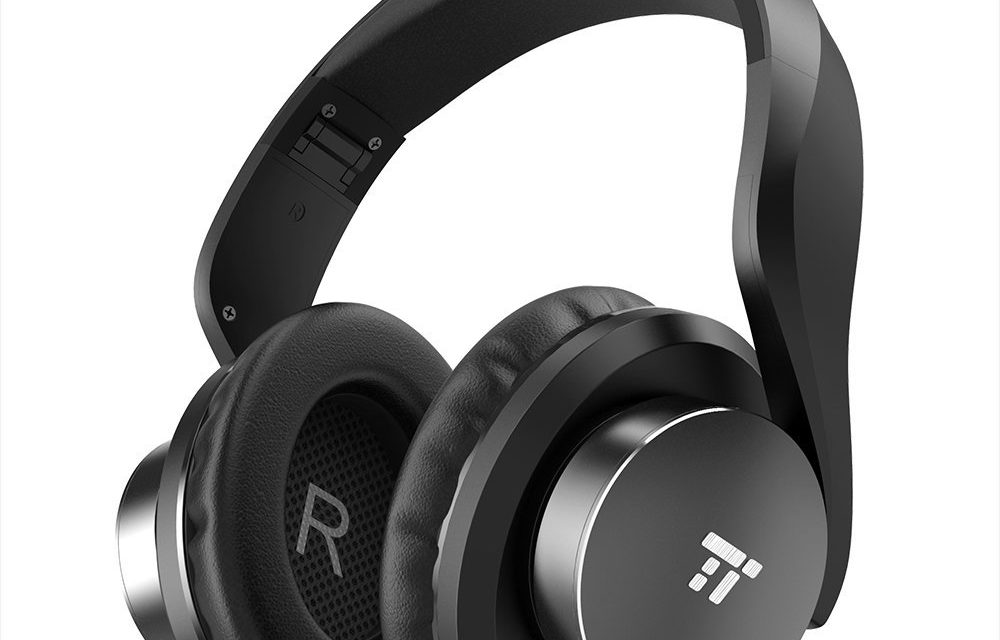 23,99€ TaoTronics Bluetooth Kopfhörer Over Ear Headset 25 Stunden Spielzeit, Einstellbar mit CVC 6.0 Mikro, Zusammenklappbares Design mit on-Ear-Steuerung