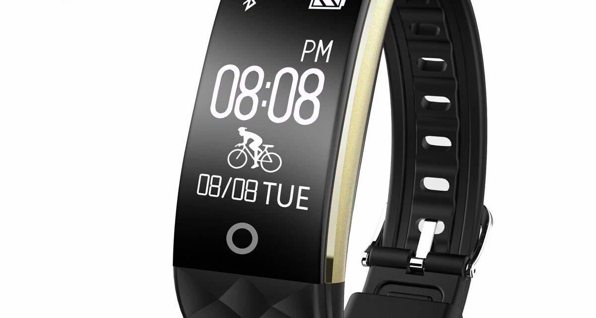 23,79€ Fitness Armband,Wasserdicht Fitness Tracker Pulsuhr Bluetooth Smart Armband Aktivitätstracker mit Herzfrequenz Monitor SchlafÜberwachung Kalorien Track Schrittzähler Fahrradmodus für Android ios Handy