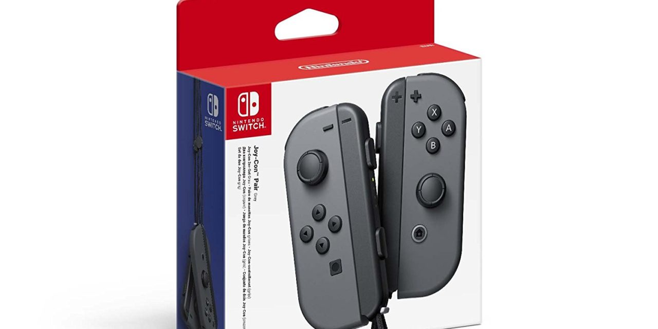 54€ Nintendo Switch Joy-Con 2er-Set Grau