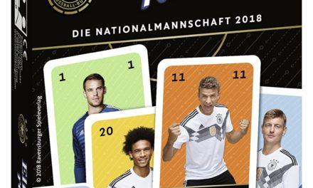 5€ Ravensburger 20791 Elfer Raus Die Nationalmannschaft 2018″ Kartenspiel
