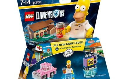 9€ LEGO Dimensions – Level Pack – Simpsons