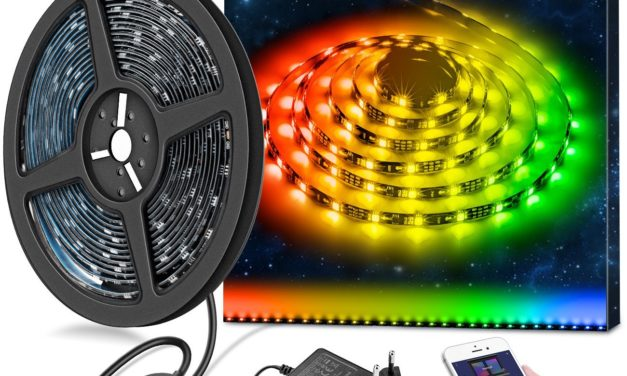 24,99€ 5m RGB LED Strips Sync mit Musik, wasserdichte LED