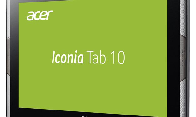 229€ Acer Iconia Tab 10 (A3-A50) 25,65 cm (10,1 Zoll Full-HD, IPS) Tablet (Media Tek Hexa-Core A72/A53, 4 GB RAM, 64 GB eMMC, Android 7.0) Schwarz