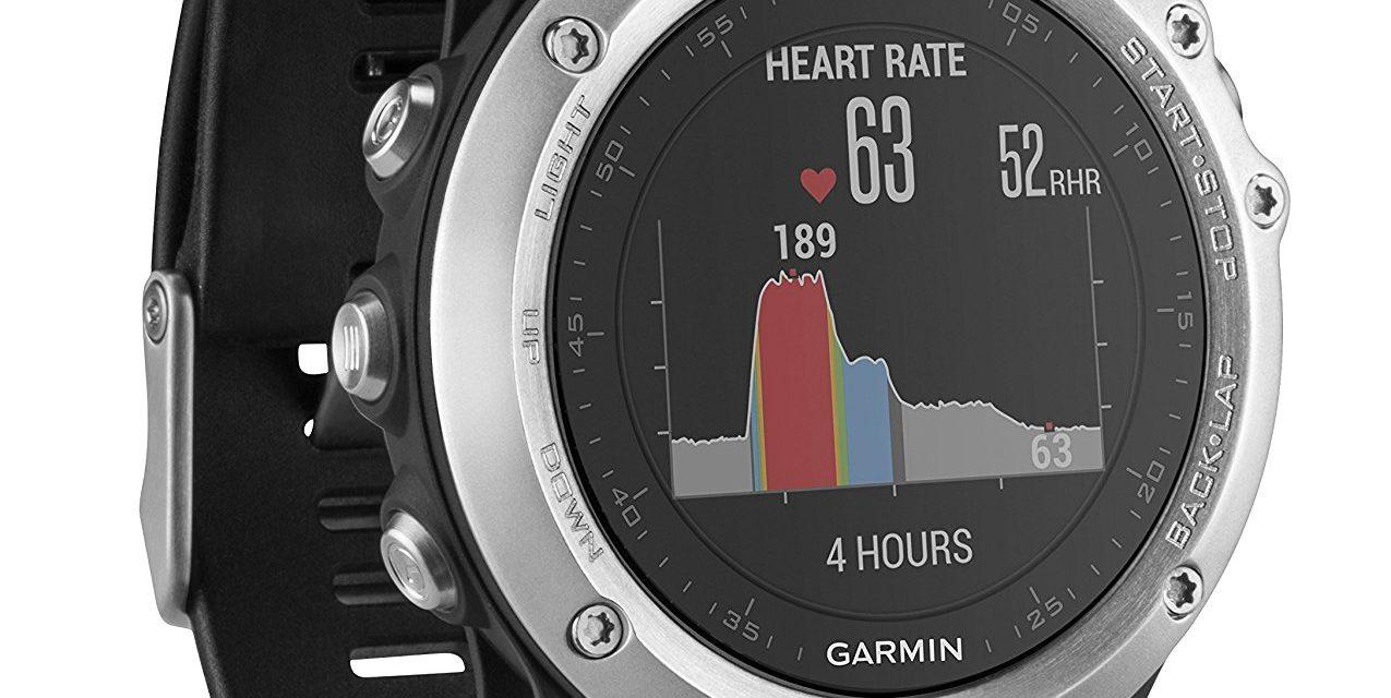 249€ Garmin Fenix 3 GPS-Multisportuhr, Diverse Navigations- und Sportfunktionen
