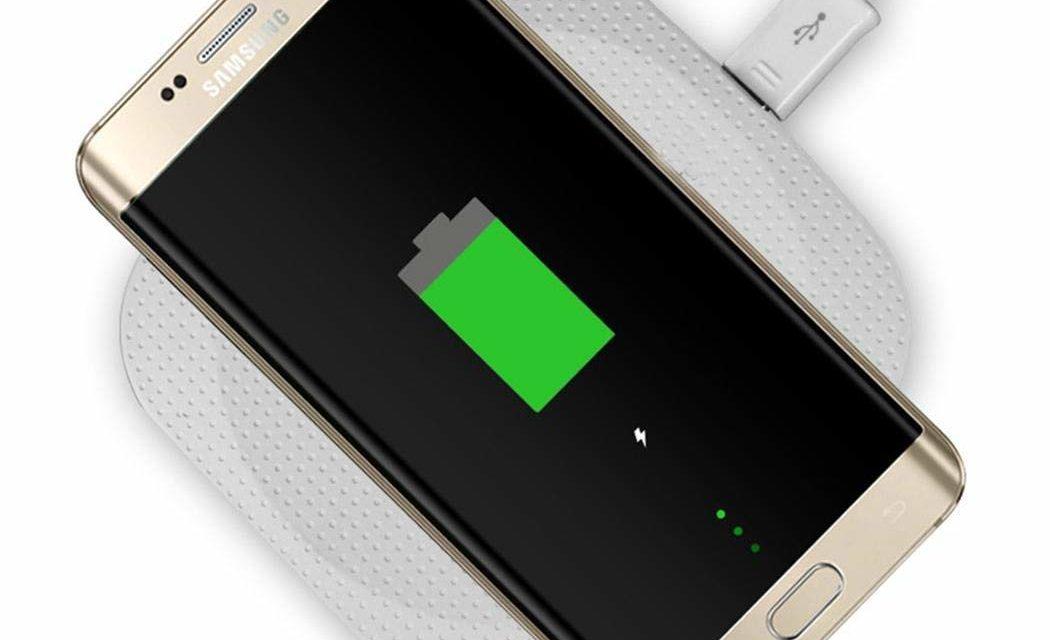 7,99€ Tiowea Ultradünne Wireless Fast Charger Ladepad für Handy