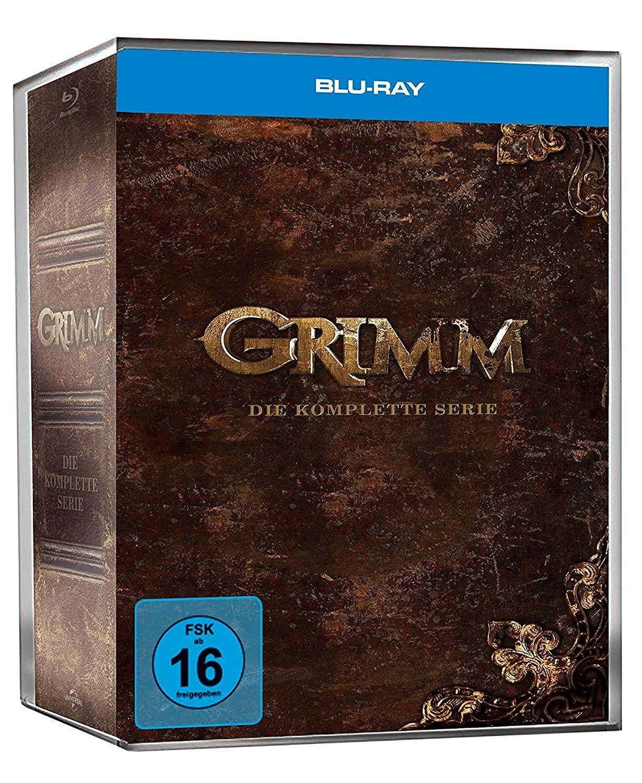 69,97€ Grimm – Die komplette Serie (Staffel 1-6) [Blu-ray]