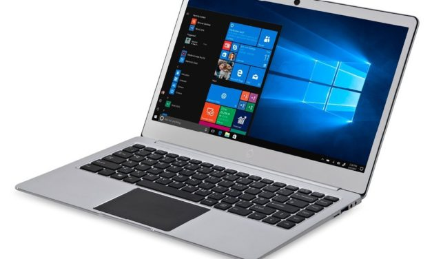 109€ iOTA Slim 35,6cm (14,0 Zoll FHD) Laptop (Intel Celeron, 2 GB RAM, 32 GB Speicher, Deutsche Tastatur, Windows 10) silber