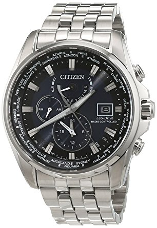 273,90€ Citizen Herren-Armbanduhr Analog Quarz Edelstahl AT9030-55L