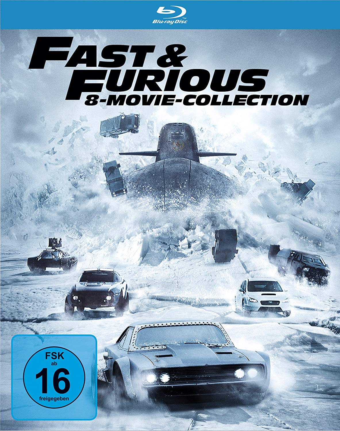 24,97€ Fast & Furious – 8 Movie Collection [Blu-ray]