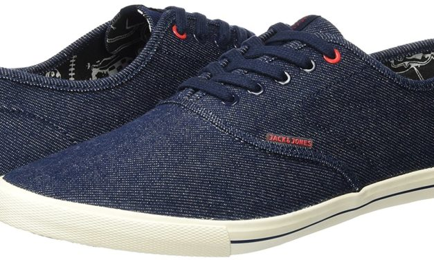 15,25€ JACK & JONES Herren Jjspider Canvas Sneaker Light Blue Denim