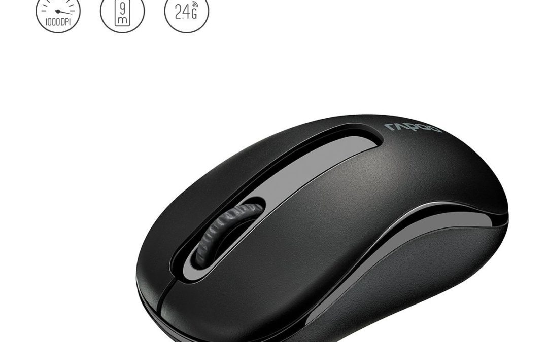 8,99€ Rapoo M10 2.4GHz Wireless Optical Mouse Black