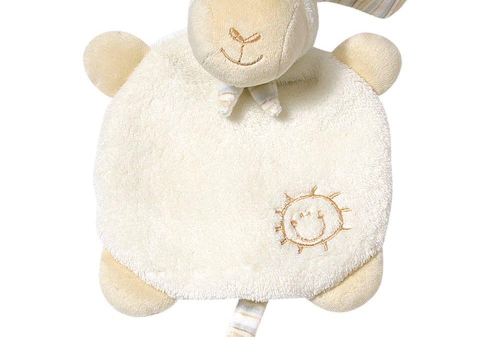 Gratis Fehn Schnuffeltuch Schaf