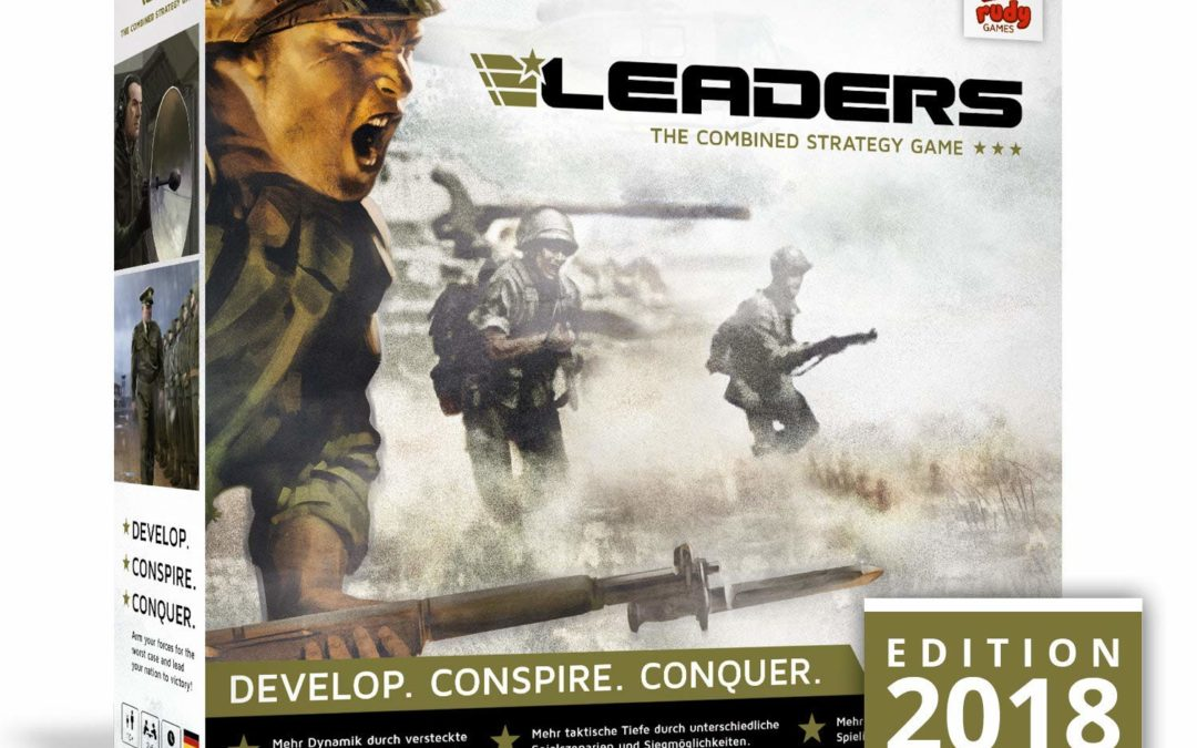 24,94€ LEADERS Edition 2018 von Rudy Games