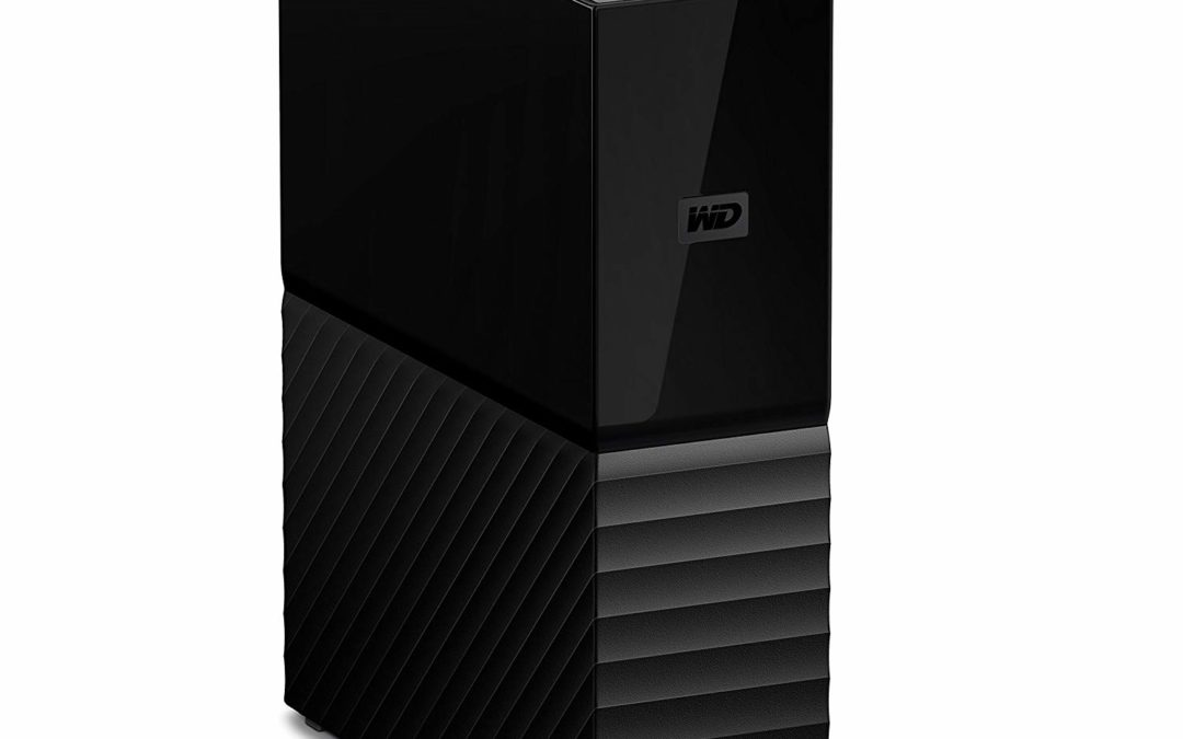 149,99€ WD My Book Desktop 8 TB – External Hard Drive – USB 3.0 – 256 Bit AES-Hardwareverschlüsselung – WDBBGB0080HBK-EESN