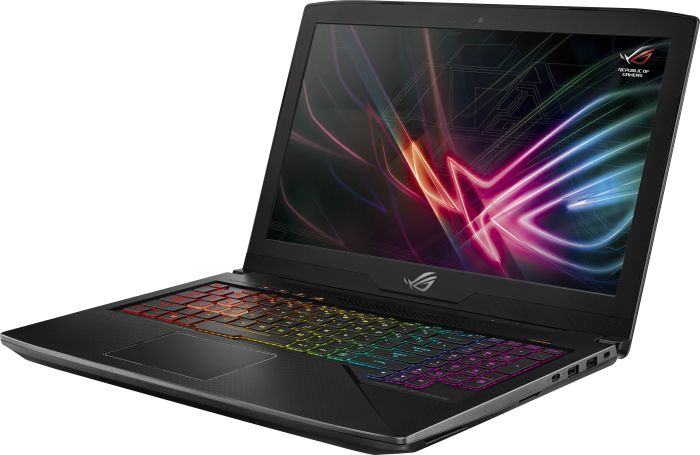 1.149€ ASUS ROG Notebook 15,6″ Full HD 120Hz, i7-7700HQ, 16GB RAM, 512GB SSD + 1TB HDD, GTX1060 6GB, beleuchtete Tastatur