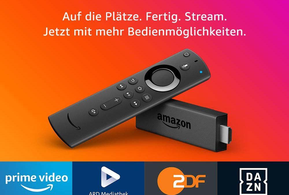 24,99€ Fire TV Stick mit der neuen Alexa-Sprachfernbedienung