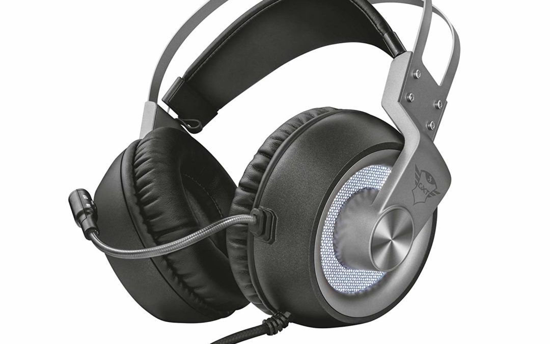 33,49€ Trust GXT 4376 Ruptor Gaming Headset/Kopfhörer (7.1 Virtual Surround Sound, für PC und Laptop, LED-Beleuchtung)