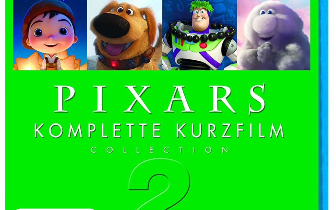 6,97€ Pixars komplette Kurzfilm Collection 2 [Blu-ray]