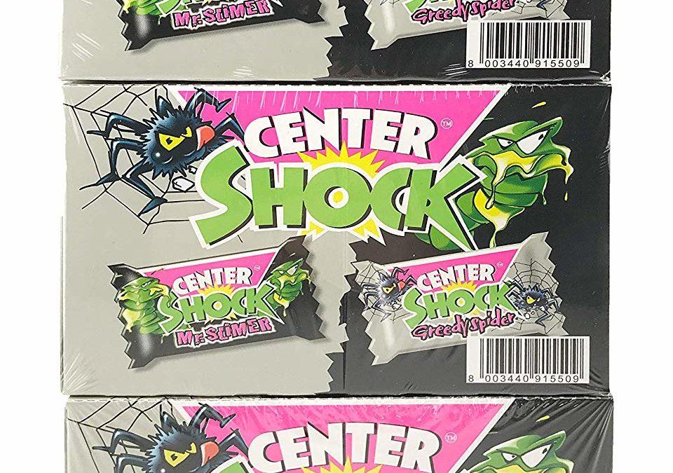 11,21€ Center Shock Monster Mix: 3 Boxen mit 100 Kaugummis, extra-sauer, Cola und Blutorange