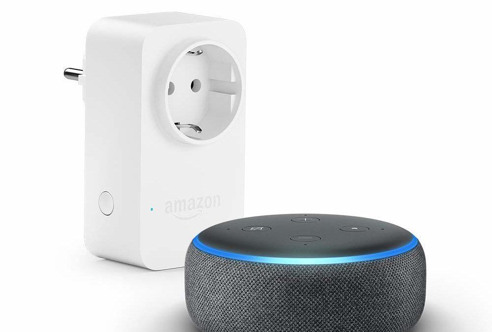 49,99€ Echo Dot (3. Gen.) mit Alexa + Amazon Smart Plug (WLAN-Steckdose)