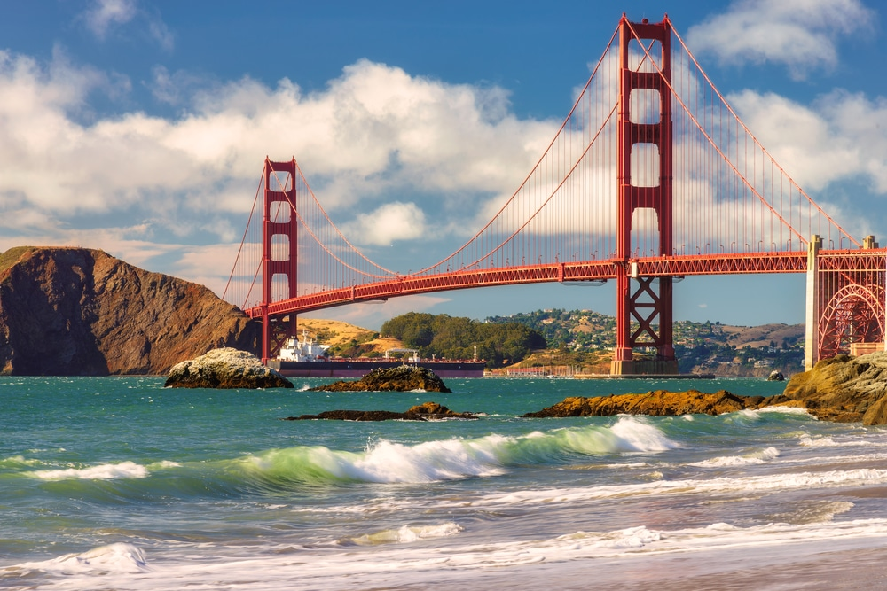 280€ USA ( Mai/Sept-Jan ) Hin- und Rückflug von München und Frankfurt nach San Francisco oder Los Angeles