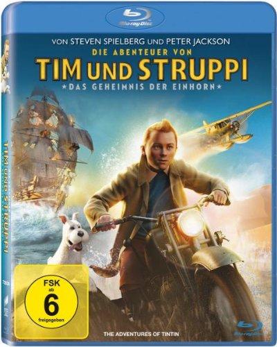 5,46€ Die Abenteuer von Tim & Struppi – Das Geheimnis der Einhorn [Blu-ray]