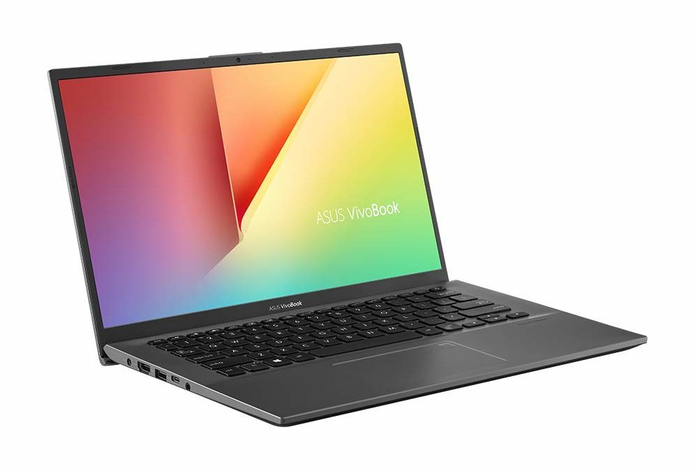 599€ ASUS VivoBook 14 F412FJ / 14″ FHD, Intel Core i5-8265U, 8GB RAM, 256GB SSD, NVIDIA GeForce MX230 (2GB), Windows 10, Slate Grey