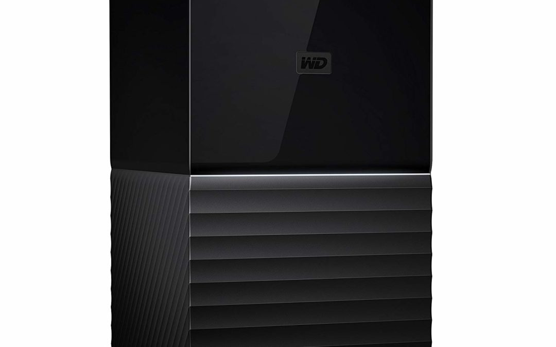 479,99€ WD My Book Duo 20 TB – Desktop RAID External Hard Drive – USB 3.0 – 256 Bit AES