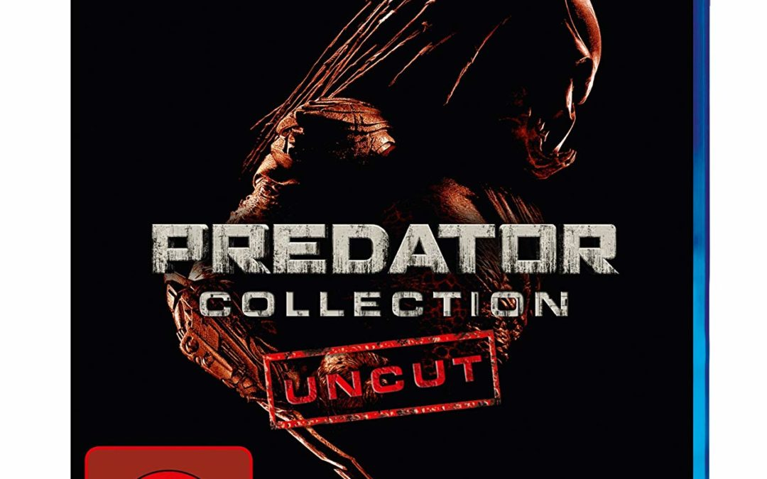 11€ Predator Collection 1-3 Uncut (Blu-ray)