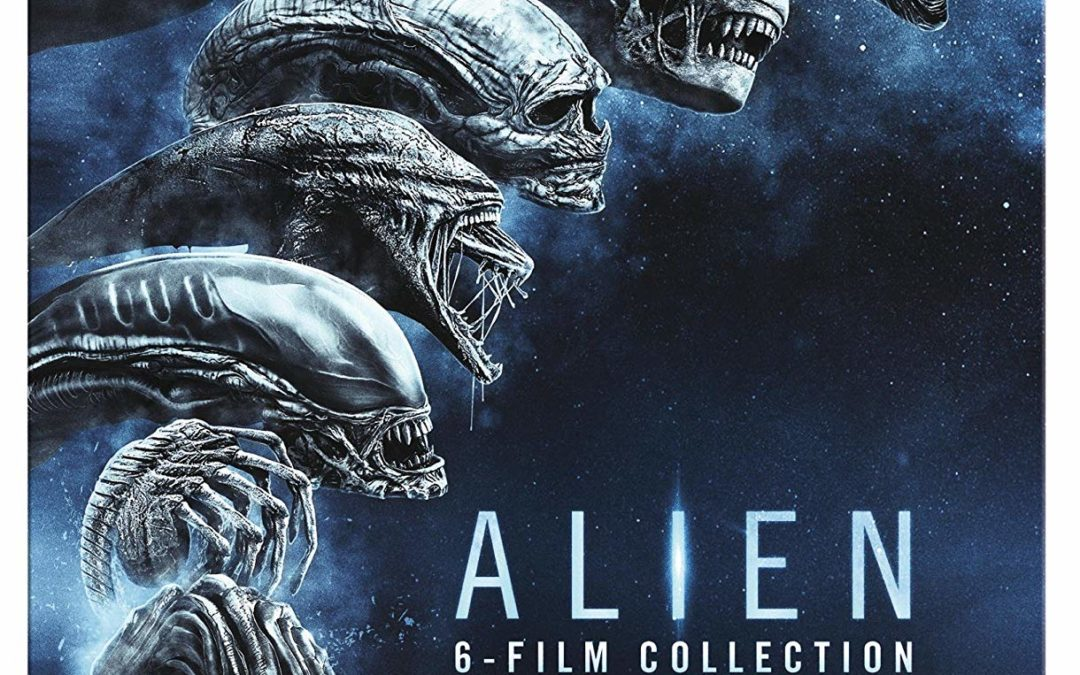29,97€ Alien 1-6 Steelbook Blu-ray