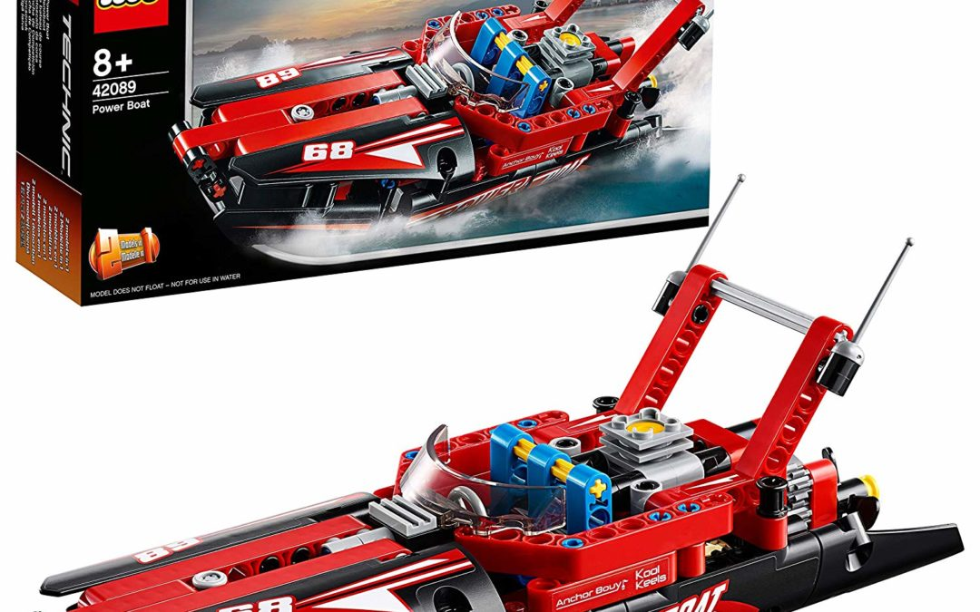 9,99€ Lego 42089 Technic Rennboot