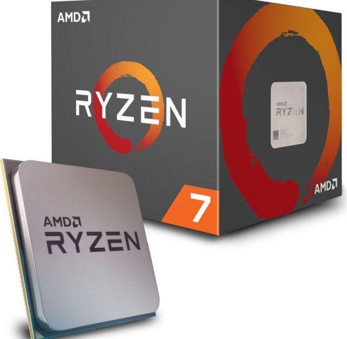 189,90€ AMD Ryzen 7 2700 8x 3,2GHZ boxed