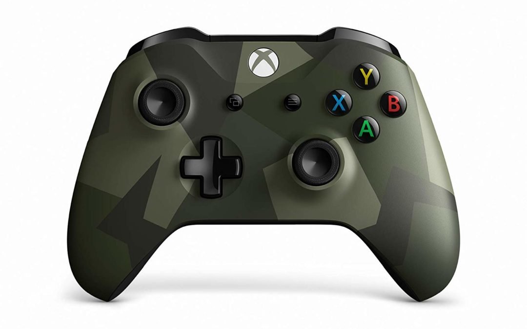 44€ Xbox Wireless Controller, Armed Forces II, Special Edition