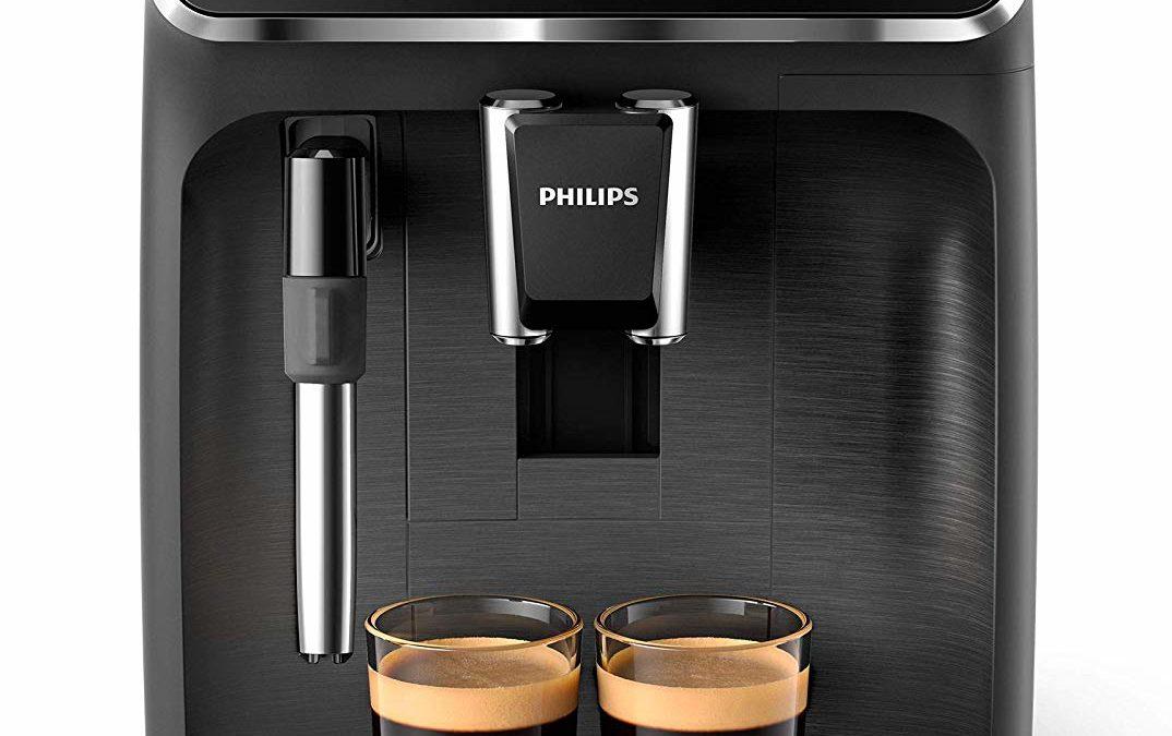 239,99€ Philips 2200 Serie EP2220/10 Kaffeevollautomat (SensorTouch Benutzeroberfläche) Schwarz/Schwarz-gebürstet