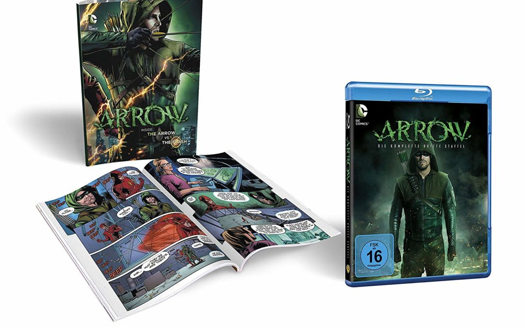 8,70€ Arrow Staffel 3 inkl. Comicbuch Limited Edition