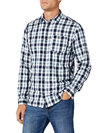 7,99€ JACK & JONES Herren Jorchris Shirt Ls One Pocket Freizeithemd