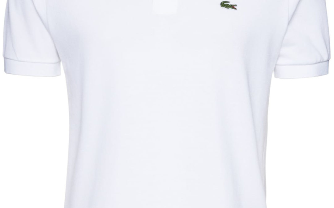 39€ Lacoste L1212 001 weiß Poloshirt