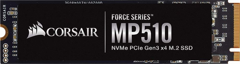 251,81€ Corsair Force MP510 1,92TB SSD (M.2, NVMe, 3D-NAND TLC, PCIe 3.0 x4, R:3480MB/s, W:2700MB/s)