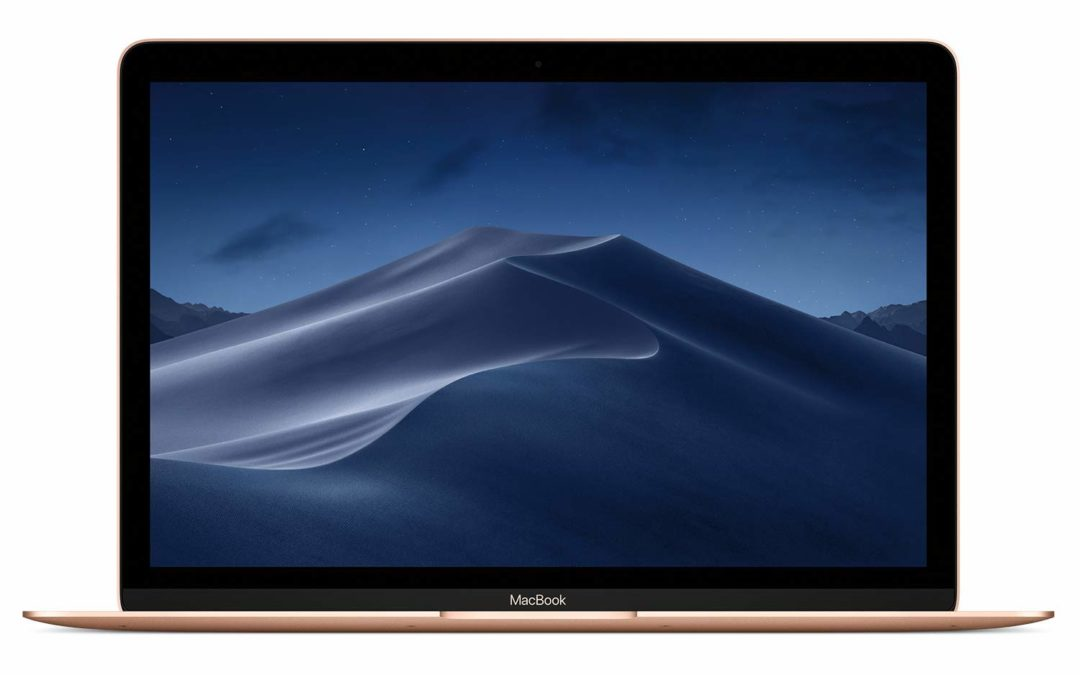 999€ Apple MacBook (12″, 1,3 GHz Dual‑Core Intel Core i5, 512 GB) – Gold