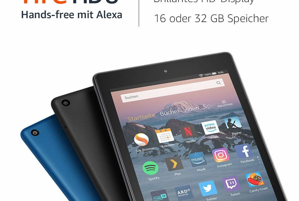 59,99€ Fire HD 8-Tablet, 16 GB